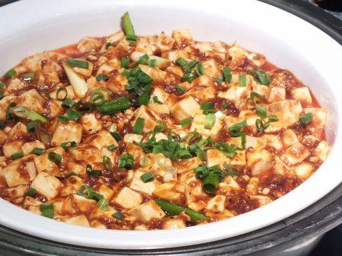 中国の料理人が作る絶品麻婆豆腐