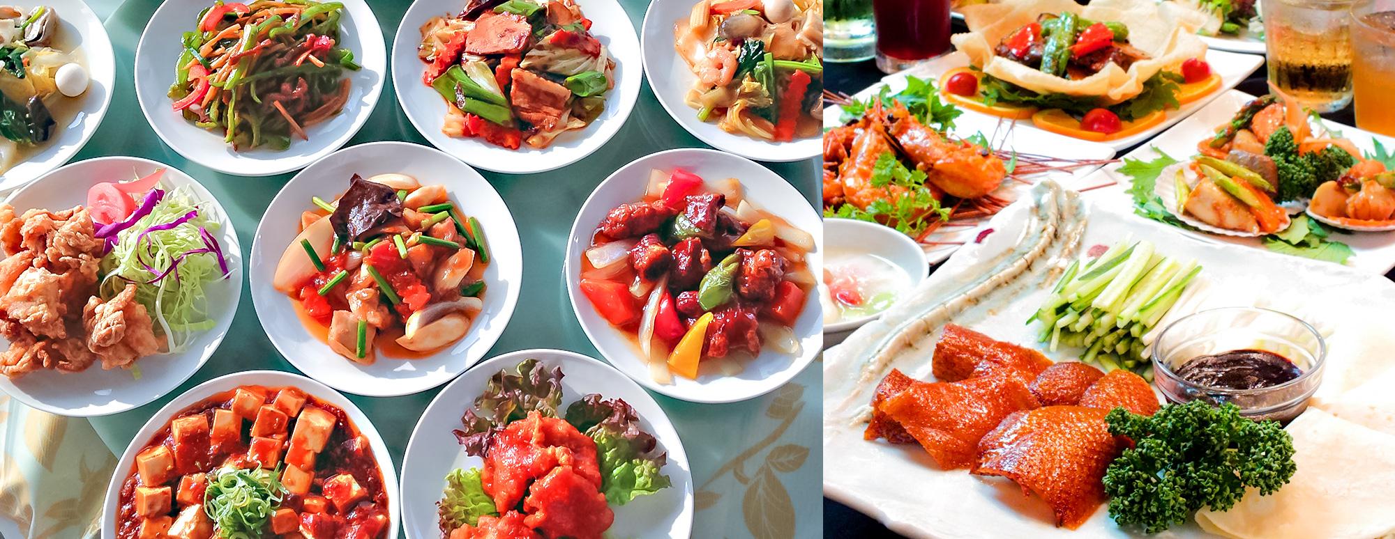 料理人がお届けする人気中華が食べ放題